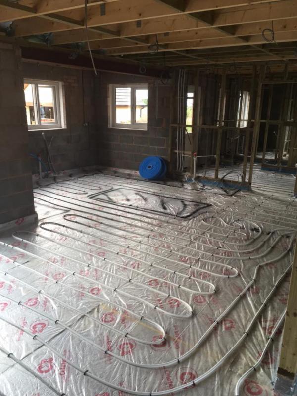 Underflooring Heating Installation