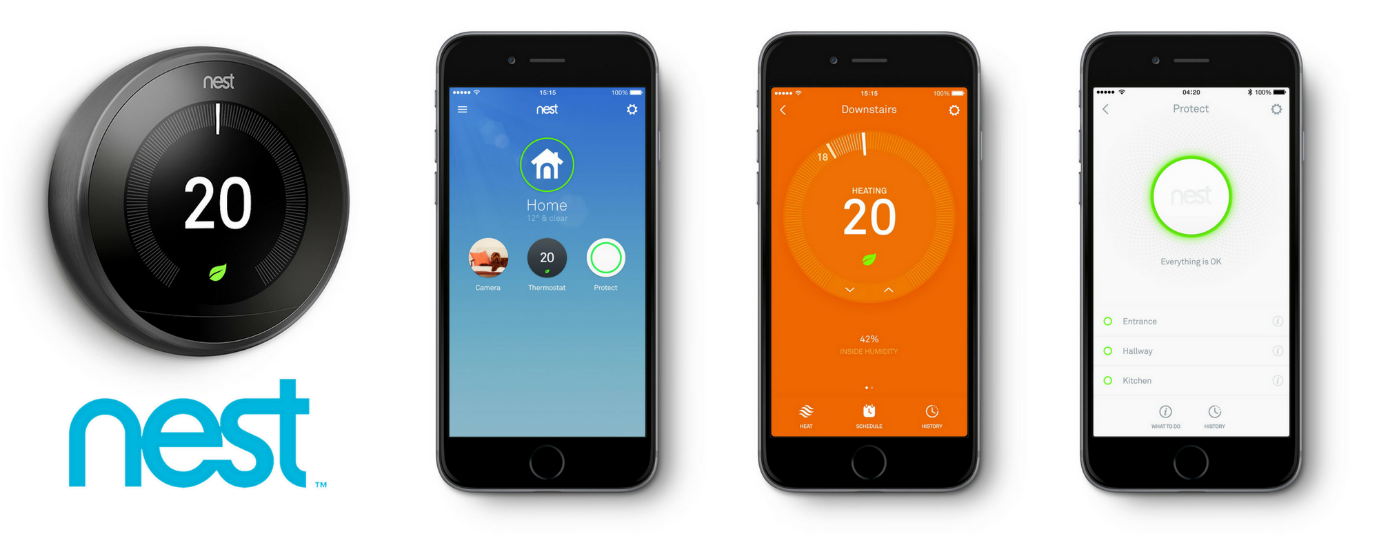 NEST Smart Heating Controls and App